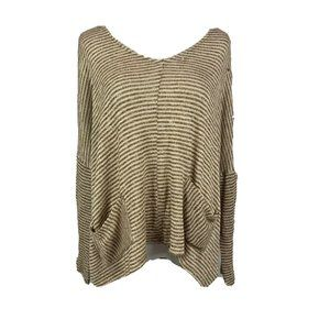 Urban Outfitters BDG Mia pocket pullover striped l